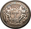 Betts Medals, Betts-384. 1752 Compagine des Indes Occidentales. Silver. XF....