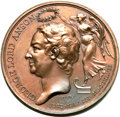 Betts Medals, Betts-382. 1747 Lord Anson Circumnavigation. Bronze. Mint State....