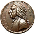 Betts Medals, Betts-515. William Pitt. Bronze. VF. ...