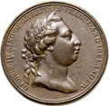 Betts-552. 1772 Captain Cook. Bronze. VF