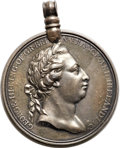 Betts Medals, Betts-552. 1772 Captain Cook. Silver, hanger. VF. ...