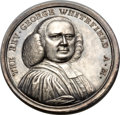 Betts Medals, Betts-527. 1770 Death of Rev. Whitefield. Silver. XF....