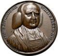 Betts Medals, Betts-525. 1770 Rev. George Whitefield. Bronze. Fine. ...