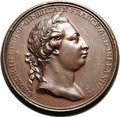 Betts-552. 1772 Captain Cook. Bronze. XF