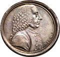 Betts Medals, Betts-522. 1773 Lord Chatham. Bronze, silvered. XF. ...