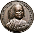 Betts Medals, Betts-526. 1770 Rev. George Whitefield. Copper. XF-AU....