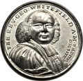 Betts Medals, Betts-Unlisted. 1770 Death of Rev. Whitefield. White Metal.XF-AU....