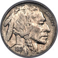 Buffalo Nickels, 1918 5C Two Feathers MS64 PCGS. FS-401....