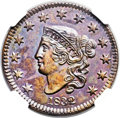 Proof Large Cents, 1832 1C PR64 Brown NGC. N-1, R.7 as a Proof. Our EAC Grade PR60....