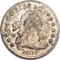 Early Dimes, 1805 10C 4 Berries MS62 PCGS. JR-2, R.2....