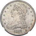 Reeded Edge Half Dollars, 1837 50C MS63 NGC. CAC....