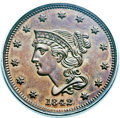Proof Large Cents, 1842 1C PR64 Brown PCGS. N-1, R.7 as a Proof. Our EAC GradePR61....