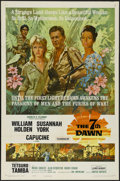 "Movie Posters:War, The 7th Dawn (United Artists, 1964). One Sheet (27"" X 41""). WarAdventure. Directed by Lewis Gilbert. Starring William Holde..."