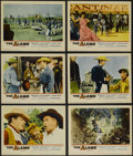 """Movie Posters:Western, The Alamo (United Artists, 1960). Lobby Cards (6) (11"""" X 14""""). Historical Drama. Directed by John Wayne. Starring Wayne, Ric... (Total: 6 Items)"""