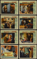 """Movie Posters:Crime, Appointment with a Shadow (Universal International, 1958). Lobby Card Set of 8 (11"""" X 14""""). Crime. Directed by Richard Carls... (Total: 8 Items)"""