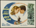 """Movie Posters:Romance, April Love (20th Century Fox, 1957). Half Sheet (22"""" X 28""""). Romance. Directed by Henry Levin. Starring Pat Boone, Nick Cono..."""