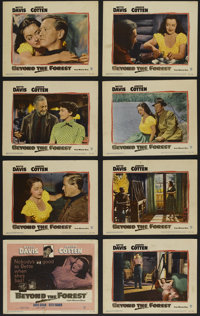 """Beyond the Forest (Warner Brothers, 1949). Lobby Card Set of 8 (11"""" X 14""""). Film Noir. Directed by King Vidor..."""