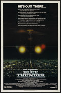 "Movie Posters:Action, Blue Thunder (Columbia, 1983). One Sheet (27"" X 41""). Action. Directed by John Badham. Starring Roy Scheider, Malcolm McDowe..."