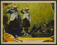 """Bonnie Scotland (MGM, 1935). Lobby Card (11"""" X 14""""). Comedy. Directed by James W. Horne. Starring Stan Laurel..."""