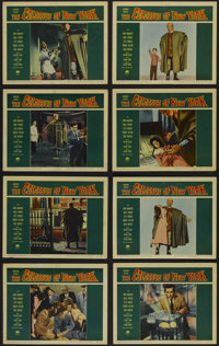 """The Colossus of New York (Paramount, 1958). Lobby Card Set of 8 (11"""" X 14""""). Science Fiction. Directed by Eug&..."""