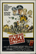 """Movie Posters:War, The Eagle Has Landed (Columbia, 1976). One Sheet (27"""" X 41""""). War.Directed by John Sturges. Starring Michael Caine, Donald ..."""