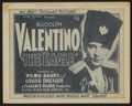 """Movie Posters:Romance, The Eagle (United Artists, R-1930s). Title Lobby Card (11"""" X 14"""") and Lobby Cards (4) (11"""" X 14""""). Romance. Directed by Clar... (Total: 5 Items)"""