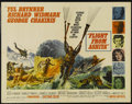 "Movie Posters:Adventure, Flight from Ashiya (United Artists, 1964). Half Sheet (22"" X 28"").Romantic Adventure. Directed by Michael Anderson. Starrin..."