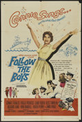 """Movie Posters:Comedy, Follow the Boys (Universal, 1944). One Sheet (27"""" X 41""""). Romantic Comedy. Directed by Richard Thorpe. Starring Connie Franc..."""
