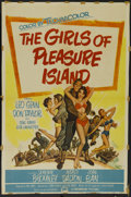 """Movie Posters:Comedy, The Girls of Pleasure Island (Paramount, 1953). One Sheet (26.5"""" X 39.75""""). Comedy. Directed by F. Hugh Herbert and Alvin Ga..."""