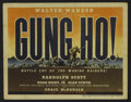 """Movie Posters:War, Gung Ho! (Universal, 1943). Title Lobby Card (11"""" X 14"""") and LobbyCards (3) (11"""" X 14""""). War. Directed by Ray Enright. Star...(Total: 4 Items)"""