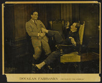 """His Majesty, the American (United Artists, 1919). Lobby Card (11"""" X 14""""). Comedy. Directed by Joseph Henabery..."""