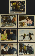 """Movie Posters:Adventure, Island in the Sky (Warner Brothers, 1953). Lobby Cards (7) (11"""" X14""""). Adventure. Directed by William Wellman. Starring Joh...(Total: 7 Items)"""