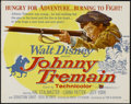 "Movie Posters:Adventure, Johnny Tremain (Buena Vista, 1957). Half Sheet (22"" X 28"").Historical Adventure. Directed by Robert Stevenson. Starring Hal..."
