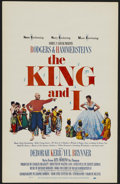 """Movie Posters:Musical, The King and I (20th Century Fox, R-1965). Window Card (14"""" X 22""""). Musical Romance. Directed by Walter Lang. Starring Debor..."""