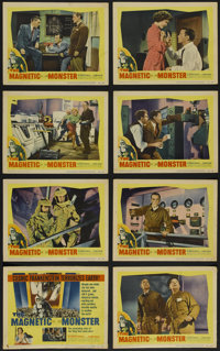 "The Magnetic Monster (United Artists, 1953). Lobby Card Set of 8 (11"" X 14""). Science Fiction. Directed by Cur..."