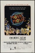 """Movie Posters:Comedy, Movie Movie (Warner Brothers, 1978). One Sheet (27"""" X 41""""). Musical Comedy. Directed by Stanley Donen. Starring George C. Sc..."""