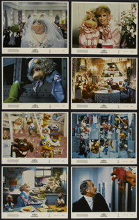 """The Muppets Take Manhattan (Tri Star Pictures, 1984). Lobby Card Set of 8 (11"""" X 14""""). Comedy. Directed by Fra..."""