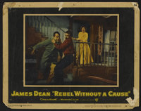 """Rebel Without a Cause (Warner Brothers, 1955). Lobby Card (11"""" X 14""""). Drama. Directed by Nicholas Ray. Starri..."""