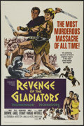 "Movie Posters:Adventure, Revenge of the Gladiators (Paramount, 1965). One Sheet (27"" X 41"").Adventure. Directed by Michele Lupo. Starring Roger Brow..."