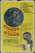 "Movie Posters:Science Fiction, Riders to the Stars (United Artists, 1954). One Sheet (27"" X 41"").Science Fiction. Directed by Richard Carlson. Starring Ca..."