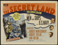 """Movie Posters:Documentary, The Secret Land (MGM, 1948). Half Sheet (22"""" X 28"""") Style A. Adventure. Directed by Orville O. Dull. Starring Robert Montgom..."""