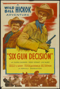 """Movie Posters:Western, Six Gun Decision (Allied Artists, 1953). One Sheet (27"""" X 41""""). Western. Directed by Frank McDonald. Starring Guy Madison, A..."""