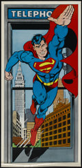 """Movie Posters:Miscellaneous, Superman--The Legend Returns (DC, 1988). Commemorative Poster (18"""" X 37""""). A poster to honor the creators of Superman, Jerry..."""