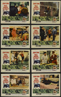 """Movie Posters:Comedy, Who's Minding the Store? (Paramount, 1963). Lobby Card Set of 8 (11"""" X 14""""). Comedy. Directed by Frank Tashlin. Starring Jer... (Total: 8 Items)"""