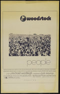 "Movie Posters:Musical, Woodstock (Warner Brothers, 1970). One Sheet (27"" X 41""). Documentary. Directed by Michael Wadleigh. Starring Richie Havens,..."