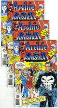 Modern Age (1980-Present):Humor, Archie Meets the Punisher #1 (Archie/Marvel, 1994) Condition: Average NM-. Four copies of Archie meets the Punisher #1 (... (Total: 4 Comic Books)