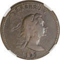 Large Cents, 1793 1C Liberty Cap -- Plugged, Face Repaired -- NGC Details. VF.S-13, B-20, R.4....