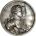 Betts Medals, Betts-443. 1763 Defense of Morro Castle. Silver. MS62 NGC....