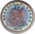 Proof Seated Quarters, 1886 25C PR67 PCGS. CAC....