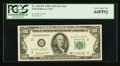 Fr. 2160-B* $100 1950C Federal Reserve Note. PCGS Very Choice New 64PPQ